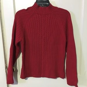 Red sweater by relativity M